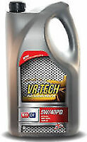 5L 5W40 FULLY SYNTHETIC DIESEL PD ENGINE MOTOR OIL 5 LITRE VW AUDI SEAT 505.01