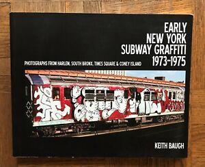 Early New York Subway Graffiti
