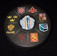 2016 World Cup of Hockey Souvenir Hockey Puck
