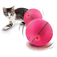 Perfect Toy Keep Your Pet Busy Dog Cats Motion LED Light Electronic Rolling Ball