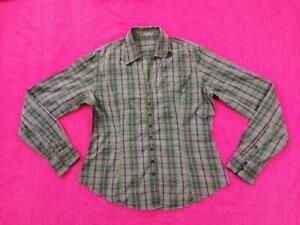 Ladies TM Lewin Woman Long Sleeves  Shirt Bottom Multi Cotton Size UK14