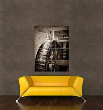 GIGANTE STAMPA POSTER FOTO industriale MILL DISCO VINTAGE ACQUA POWER pdc045