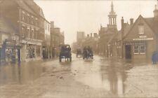 St Neots Flood. Market Square.