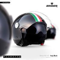 ARMOR AV-63 Italy B. Jet-Helm Roller-Helm Chopper Motorrad-Helm XS S M L XL XXL