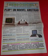 Magazine hebdogiciel [no 99 6 sept 85] no tilt msx commodore apple II ti-99 * jrf