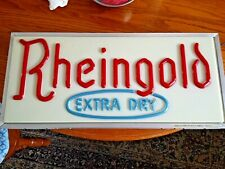 Reingold Extra Dry Lighted Beer Sign Tel-A-Sign