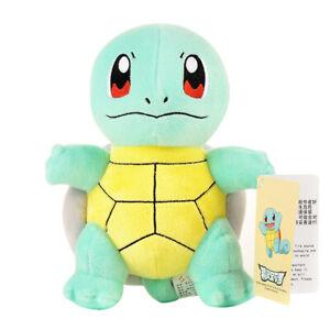 25CM Pokemon Squirtle Plush Soft Teddy Stuffed Animal Dolls Kids Toy UK