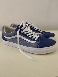 Size 10.5 - VANS Old Skool Navy