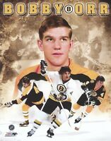 Bobby Orr Boston Bruins Unsigned 8x10 Photo Collage