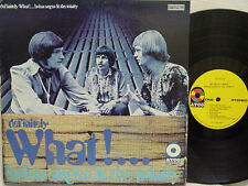 "BRIAN AUGER & THE TRINITY - Definitely What!...LP (1st US Press, ""yellow"" ATCO)"