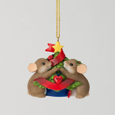 Charming Tails 2012 Annual Dated Ornament Mouse Mice NEW 4027666 Holiday