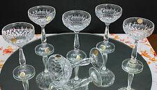 6 BICCHIERI liquorosi di Zwiesel-Cristallerie!!! VERA BLEIKRISTALL!!!