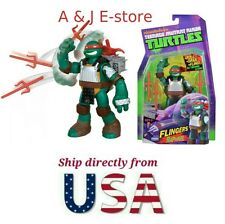 "New Teenage Mutant Ninja Turtles Flingers - Raphael 5"" Figure - Ship From U.S.A."