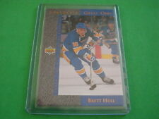 BRETT HULL GRETZKY'S GREAT ONES 1993-1994 UD CARD NUMBER GG3