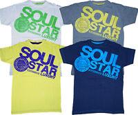 Boys Kids Soul Star T-Shirts Top Print Designer Fashion