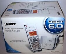 Uniden Dect 6.0 2060W Digital Cordless Phone Telephone(New In Sealed Retail Box)