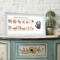 Koreyosh Baby Picture Frame Handprint Keepsake Photo Frames