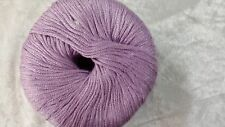 Heirloom Bamboo & Wool 8 Ply #853 Lilac 50g