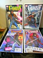 Gambit 2004 1-4 #1 #2 #3 #4 Lot Marvel Comics BAGGED BOARDED