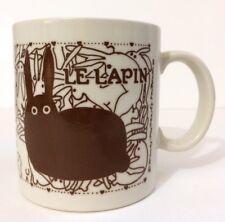 Taylor Ng Le Lapin Brown Rabbit Mug Bunny Orgy Naughty