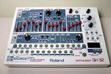 Roland SH-32 Alternative Slider Cap Set - RED - Full Set of 17 - Slider Knobs -