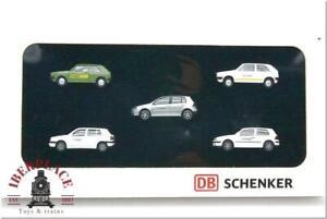 H0 1:87 scale Auto-Modelismo Wiking VW Golf DB Schenker's