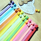 Origami Lucky Paper Star Strips/Ribbons RAINBOW COLORS