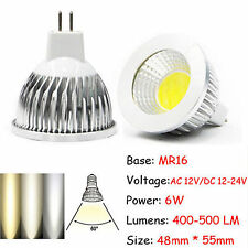 Ultra Bright MR16/GU10/E27/E14 Dimmable 6W/9W/12W LED COB Spot Lights Bulbs Lamp