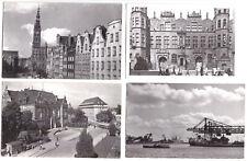 10 AK, Gdansk, Danzig, verschiedene innerstädtische Motive, 1959