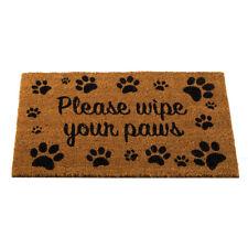 Functional Durable Wipe Your Paws Practical Decoir Door Mat Indoor Outdoor Fun