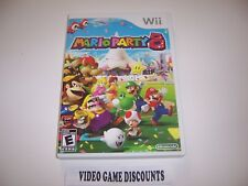 Original Box Replacement Case for Nintendo Wii - MARIO PARTY 8
