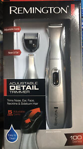 Remington PG165 Battery Operated Precision Grooming System, Silver