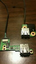 HP PAVILION DV9000 DV9500 DV9700 USB PORT BOARD W/CABLE X2