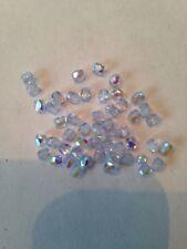 50 3mm Rainbow Moonstone AB Czech Glass Beads L@@K SALE