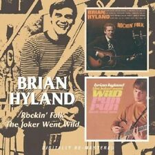 Brian Hyland Rockin' Folk/The Joker Went Wild 2on1 CD NEW SEALED Remastered