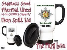 Royal Dragoon Guards RDG Personalised Thermal Travel Mug.(MT004)