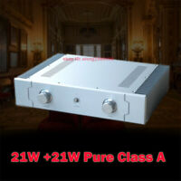Finished Hifi 21W+21W Class A Power amplifier base on UK Sugden A21A amp  L21-7