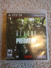 ALIENS VS. PREDATOR PS3 (Playstation 3) SEGA Complete CIB