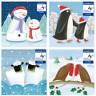 8x Eco-Friendly Recycled Children's Hospice UK Christmas Cards - Various Designs