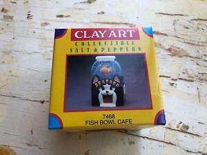 NOS SALT & PEPPER SHAKER SET (S9)  - FISH BOWL CAFE