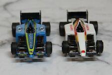 tyco slot cars pair