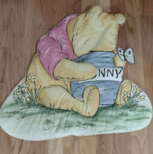 Classic Pooh Winnie The Pooh Quilted Pooh & Honey Pot Wall Hanging For Nursery