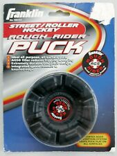 Street/Roller Hockey Rough Rider Puck - All Surface w/ AGS - Franklin Sports