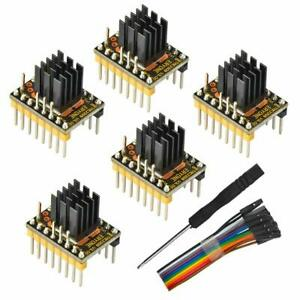 Eryone 5PCS TMC2209 Stepper Motor Driver Module Packed with Heat Sink for 3D UK