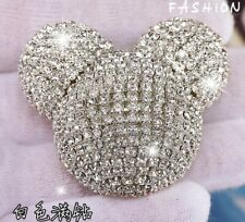 Unique handmade gift Mickey Mouse air freshener car vent clip rhinestone cute AA
