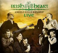 ANGELO & FAMILY KELLY - IRISH HEART-LIVE   CD NEU