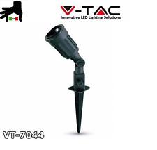 FARETTO V-TAC LED DA GIARDINO IP44 FARO CON PICCHETTO PER LAMPADA PAR38 E27