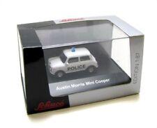 "SCHUCO 25436 Austin Morris Mini Cooper ""Police"" Automodell Maßstab 1:87 - OVP"