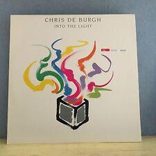 CHRIS DE BURGH Into The Light  1986 UK Vinyl LP Excellent Condition Record