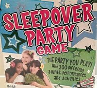 """""""THE SLEEPOVER PARTY GAME""""  Brand New and Factory Sealed, For Ages 8 and Up"""